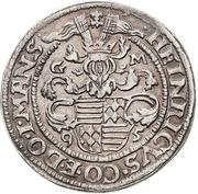 ½ Thaler - Heinrich II. (Spruchtaler) – avers