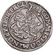 ½ Thaler - Heinrich II. (Spruchtaler) – revers