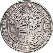 1 Thaler - Heinrich II. (Spruchtaler) – avers