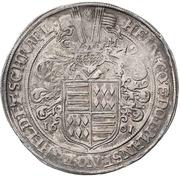 1 Thaler - Heinrich II. – avers