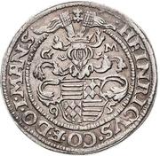½ Thaler - Heinrich II. – avers