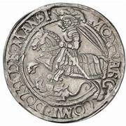 1 Thaler - Gebhard VII, Albrecht VII, Philipp II & Johann Georg I – revers