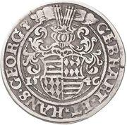 ½ Thaler - Gebhard VII & Johann Georg I – avers