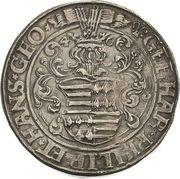 1 Thaler - Gebhard VII, Philipp I & Johann Georg I – avers