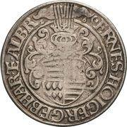 1 Thaler - Ernst II., Hoyer VI., Gebhard VII. & Albrecht VII – avers