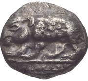 Triobol (Mantineia) – avers