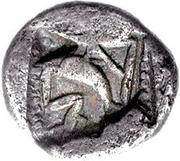 Triobol (Mantineia) -  revers