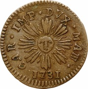 1 soldo Charles VI – avers