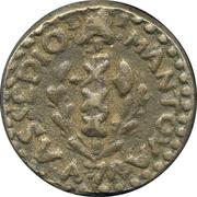1 soldo (monnaie de siege) – avers
