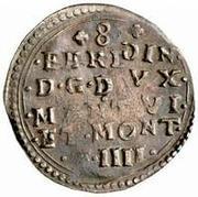 8 soldi - Ferdinando – avers