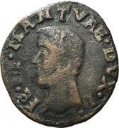 1 quattrino - Federico II – avers