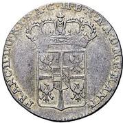 20 soldi - Francesco II – avers