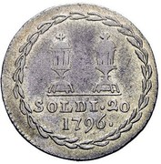 20 soldi - Francesco II – revers