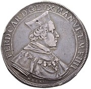1 ducatone - Ferdinando – avers