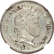 1 Lira, 20 Kreuzer - Ferdinand I – avers