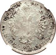 1 Lira, 20 Kreuzer - Ferdinand I – revers