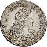 1 scudo - Ferdinand Charles – avers