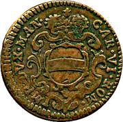 2 Soldi, 1 Soldone - Carlo VI – avers