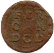 1 Soldo - Duchy of Mantua – revers