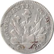 1 Lira - Ferdinando Carlo – revers