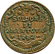 2 Soldi, 1 Soldone - Carlo VI – revers