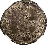 1 lira - Carlo I – revers