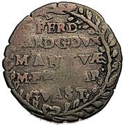 10 soldi - Ferdinando Carlo Gonzaga – avers