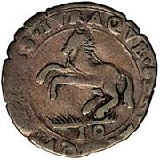 10 soldi - Ferdinando Carlo Gonzaga – revers