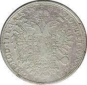 1 fiorino, ½ thaler Ferdinand I – revers