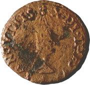 1 Quattrino - Guglielmo III Gonzaga – revers