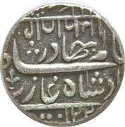 1 Roupie- Shah Alam II Miraj mint – avers