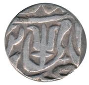 1 Rupee  Shah Alam II – avers
