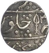 1 Rupee - Shah Alam II. – avers