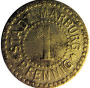 1 pfennig - Marburg an der Lahn – avers