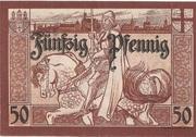 50 Pfennig (Marienburg) – revers