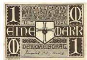 1 Mark (Marienburg) – avers