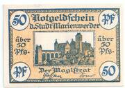 50 Pfennig (Marienwerder) – avers