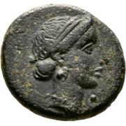 AE13 - Timocharis (Marion) – avers