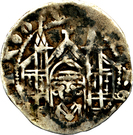 1 pfennig Eberhard I (Iserlohn) – revers