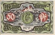 50 Pfennig (Marne) – avers