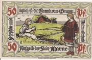 50 Pfennig (Marne) – revers