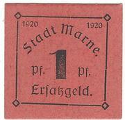 1 Pfennig (Marne) – avers