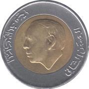 5 dirhams Hassan II (bimétallique) -  avers
