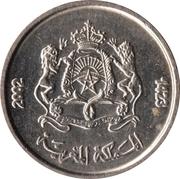 ½ dirham (Télécommunications) -  avers