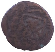 1 Falus - Isma'il (illegible mint name) – revers