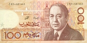 100 Dirhams – avers