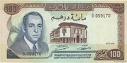 100 Dirhams - Type 1970 – avers