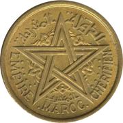 1 franc Mohammed V -  avers