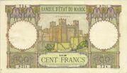 100 Francs 1938 - 1947 – avers