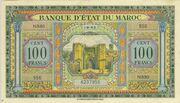 100 Francs 1943 - 1944 – avers